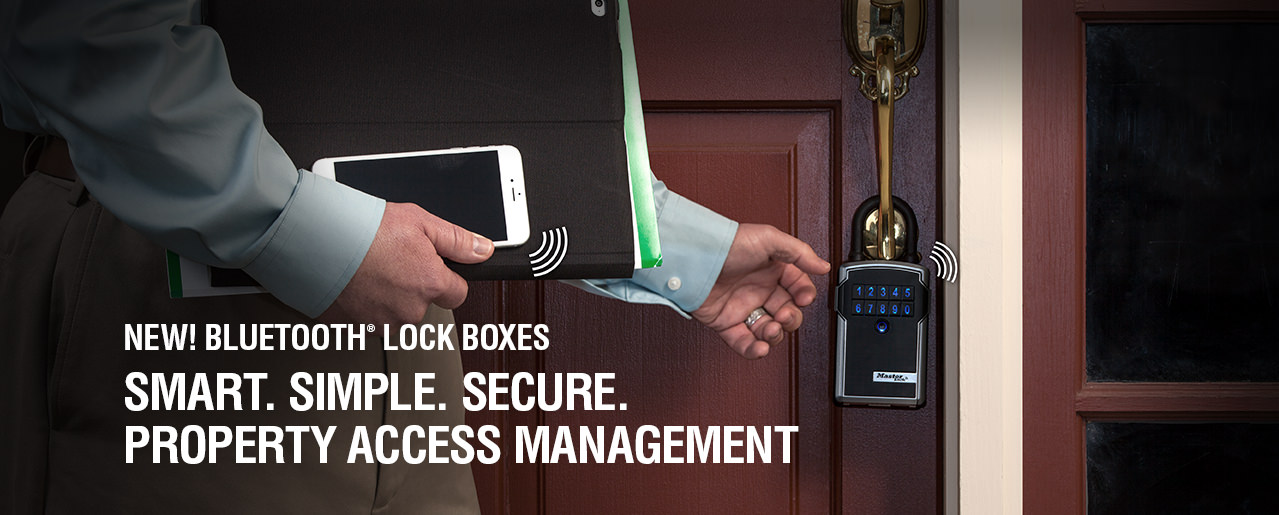 Master Lock Bluetooth Lock Boxes